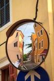 Gasse in Kroatien lizenzfreies stockfoto