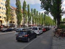 Gasse in München Stockbilder