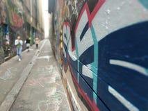 Gasse in Melbourne stockbilder