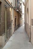 Gasse in Palma de Mallorca stockbild