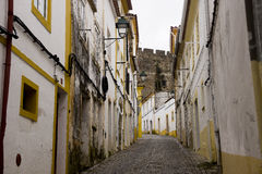 Gasse Portalegre Portugal Lizenzfreie Stockbilder