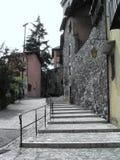 Gasse und Treppe Stockfotografie