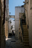 Gasse von Apulien Lizenzfreie Stockfotografie