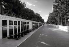 Gasse von Märtyrern im Hochlandpark Stockfotos