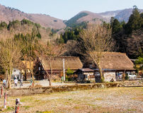 Gassho house in Shirakawa-go village, Toyama, Japan 1 Royalty Free Stock Images