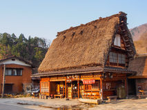 Gassho house in Shirakawa-go village, Toyama, Japan 2 Stock Photos