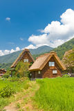Gassho style houses in Ogimachi village, Japan Royalty Free Stock Image