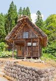 Gassho style residence in Ogimachi village, Japan Royalty Free Stock Photo