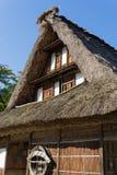 Gassho Zukuri (Gassho-style) House in Gokayama Stock Photography