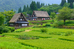 Gassho-zukuri village Stock Photo