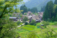 Gassho-zukuri village Royalty Free Stock Photography