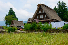 Gassho-zukuri village Stock Photos