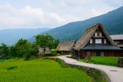 Gassho-zukuri village Stock Image