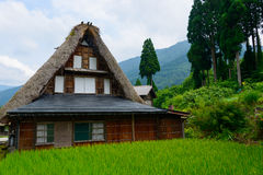 Gassho-zukuri village Royalty Free Stock Images