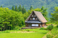 Gassho-zukuri village Royalty Free Stock Photo