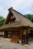 Gassho-zukuri village Stock Photography