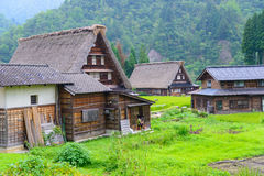 Gassho-zukuri village Stock Images