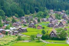 Gassho-zukuri village Royalty Free Stock Image