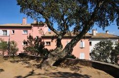Gassin, Γαλλία - 16 Απριλίου 2016: το γραφικό χωριό Στοκ φωτογραφία με δικαίωμα ελεύθερης χρήσης