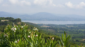 Gassin Provence Francia Imagenes de archivo