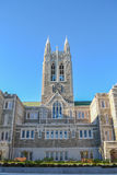 Gasson Corridoio all'istituto universitario di Boston Fotografia Stock Libera da Diritti