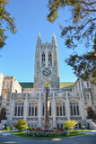 Gasson Hall at Boston College. The Boston College campus is located in Chestnut Hill, Massachusetts royalty free stock image