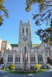 Gasson Pasillo en la universidad de Boston imagen de archivo libre de regalías