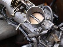 gasspjäll för motordelar Royaltyfri Bild