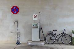 Gasstation 免版税库存图片