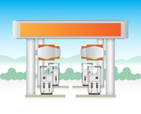 Gasstation Stock Images