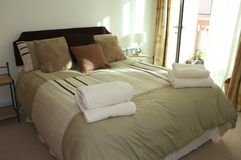 Gast-Schlafzimmer Stockbilder