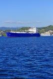 Gastankfartyg Arkivfoto