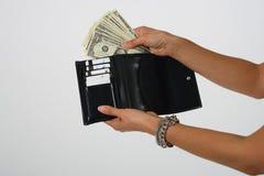 Gastar dinero Fotos de archivo