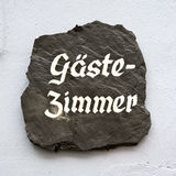 Gaste zimmer Stock Photography