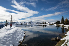 Gastein Massif, Alps, Austria. Gastein Massif, Alps i Austria Panorama view Stock Images