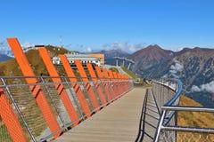 In the Gastein mountains, Austria. Stock Image