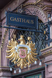 Gasthaus - german guesthouse Royalty Free Stock Image