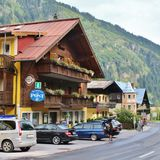 Gasthof Zur poczta w Böckstein, Austria Obraz Stock