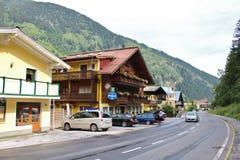 Gasthof Zur poczta w Böckstein, Austria Zdjęcie Royalty Free