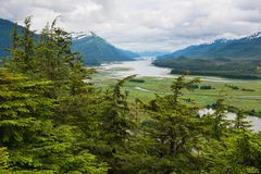 Gastineau Channel Royalty Free Stock Images