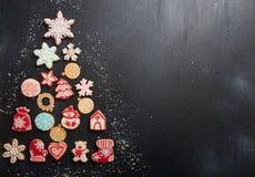 Gastos indirectos del fondo del día de fiesta del Año Nuevo de la Navidad Tarjeta de felicitación Foto de archivo libre de regalías