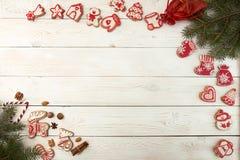 Gastos indirectos del fondo del día de fiesta del Año Nuevo de la Navidad Wi de la decoración Imagenes de archivo