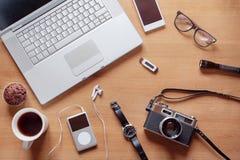 Gastos indirectos del lugar de trabajo moderno de la comodidad Fotografía de archivo libre de regalías