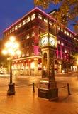 Gastown在温哥华,加拿大 免版税库存照片