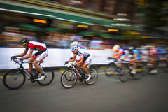 Gastown格兰披治2013自行车赛 免版税库存图片