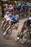 Gastown格兰披治2013自行车赛 库存图片