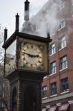 Gastown Dampf-Uhr lizenzfreie stockfotografie