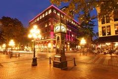 Gastown en Vancouver, Canadá Imagen de archivo libre de regalías