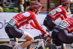 Gastown grand prix cycling race Stock Photo