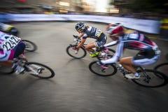 Gastown grand prix 2013 cykla lopp Arkivbilder